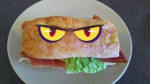 Sandwich au Jambon Serrano Ojos