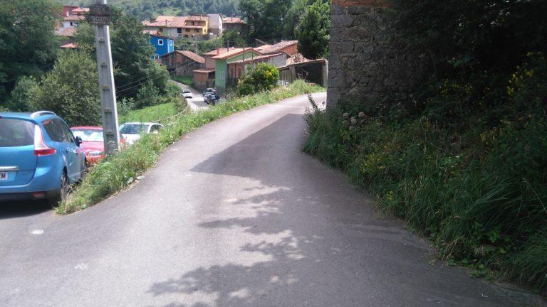 Route pour arriver au Roxin