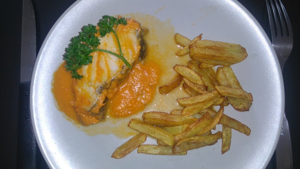 Bacalao Con Tomate - Morue Sauce Tomate