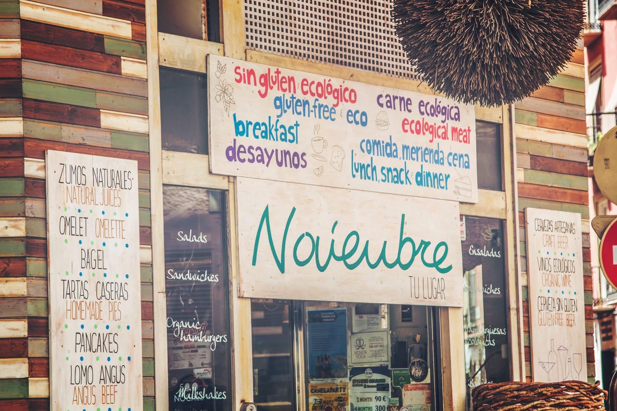 Bar Noviembre Healthy Food