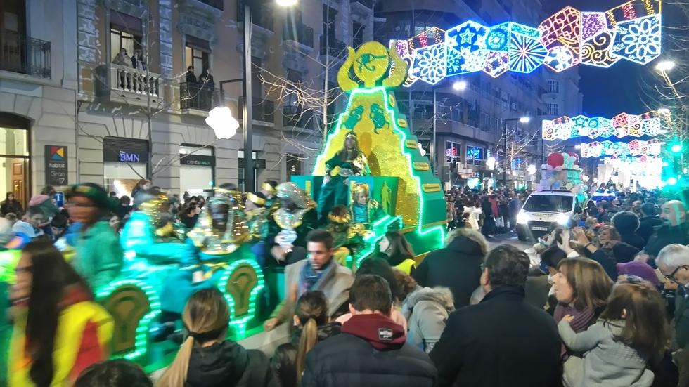 Cabalgata De Los Reyes Magos - Grenade 2018
