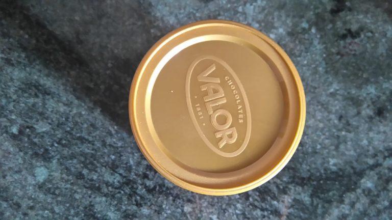Couvercle du Cacao Puro Valor