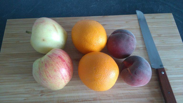 Lavez les fruits