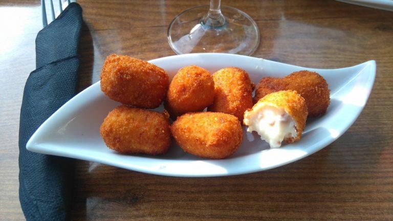 La Canasta - Mini croquettes au jambon