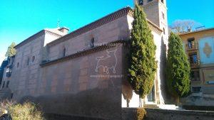 Nous rencontrons l'église San Gil et Santa Ana
