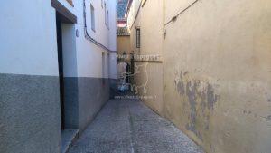 Ruelle étroite du quartier Albaycín