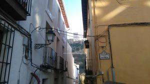 Vue de l'Alhambra depuis la ruelle Gloria