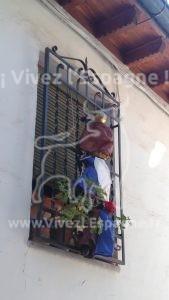 Les rois mages grimpent sur une fenêtre ;-)