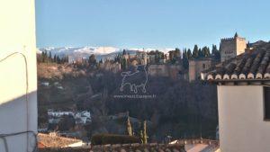 la Sierra Nevada et l'Alhambra