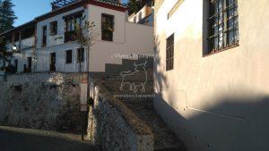 Quartier Albaycín de Grenade en Espagne