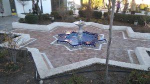 Les jardins de la Grande Mosquée de Granada