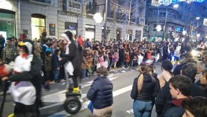 Encore Los Pingouïnos avec leur moyen de transport hahaha !!!