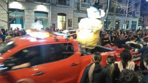 Nos amis les pompiers sont présent dans le défilé