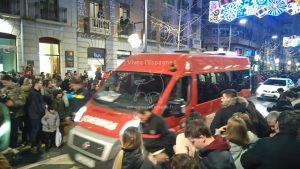 Une belle ambulance de pompiers