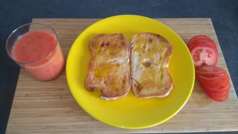Choisissez tomate moulinée ou rondelles de tomate