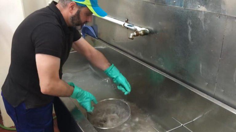 Lavage du Bocarté
