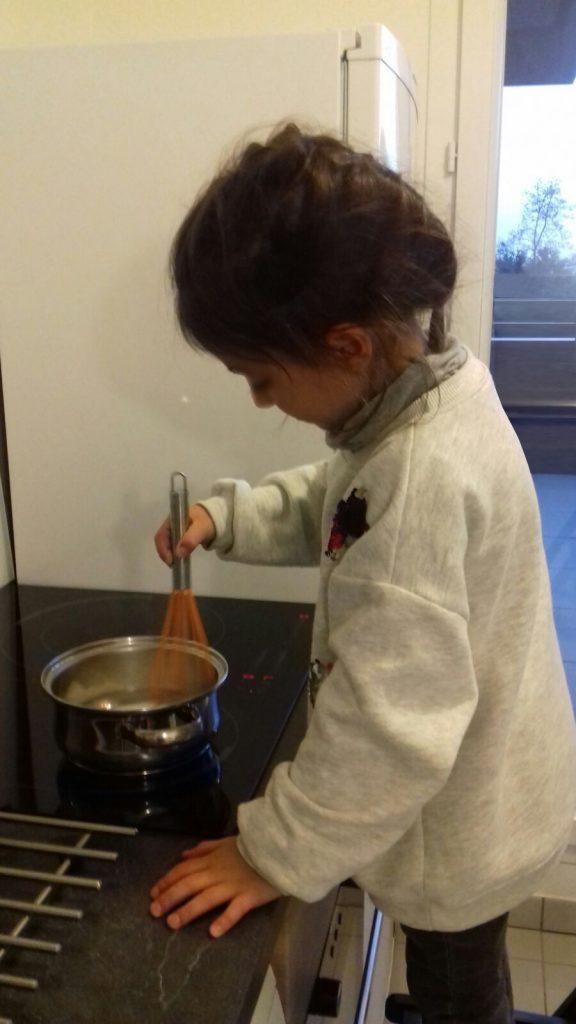 Professionnelle du chocolat chaud ;-)