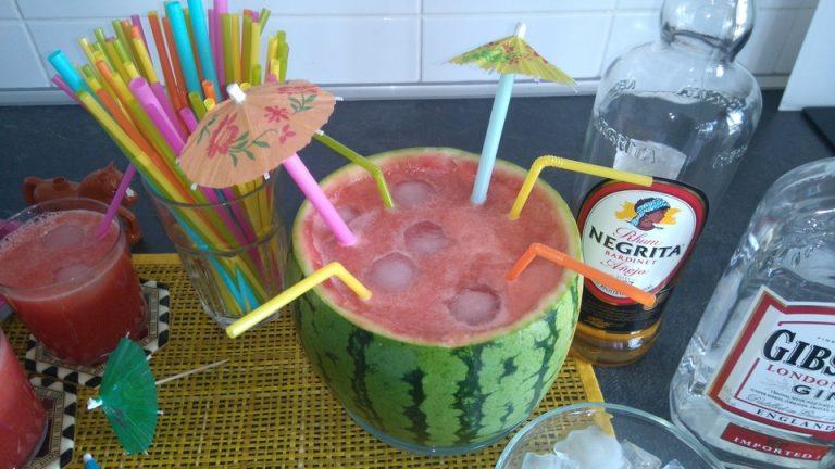 La Sandia Cocktail est prête