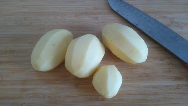 Prenez les pommes de terre