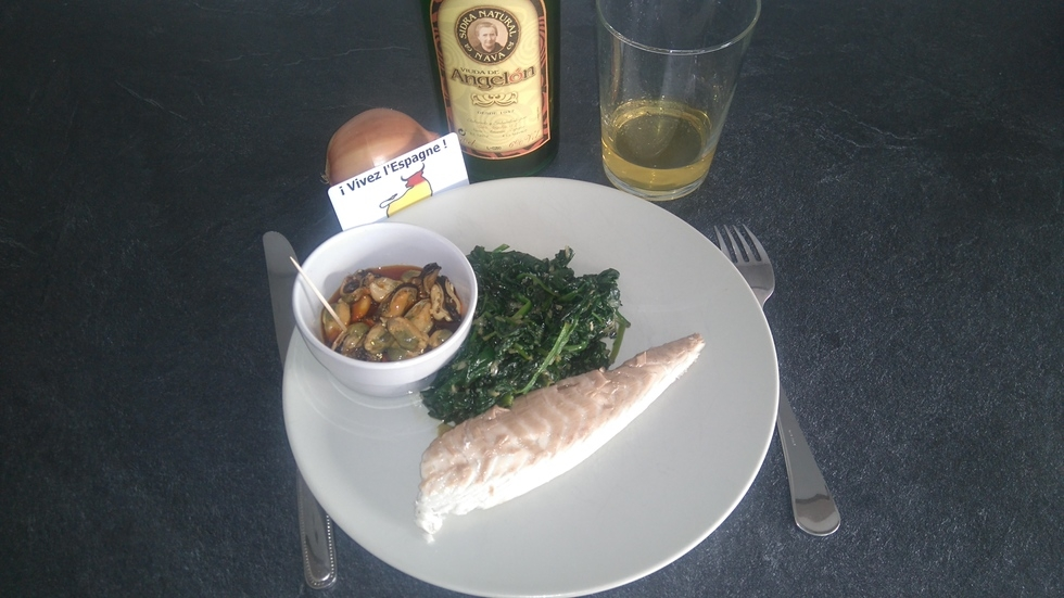 Dorada a la sal – Dorade royale cuite dans le sel