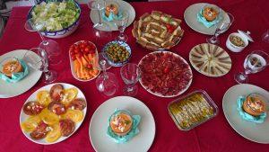 10 Tapas Froides pour nos invités