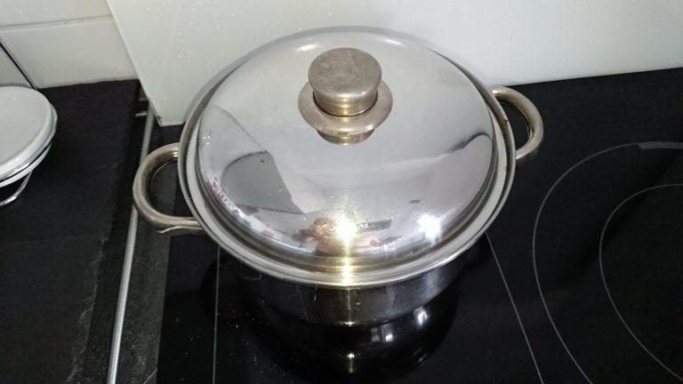 Couvrez la casserole