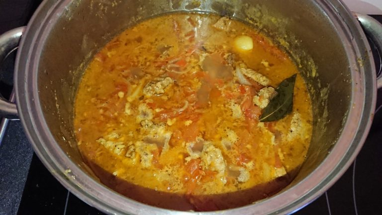 Le Magro con Tomate est cuit