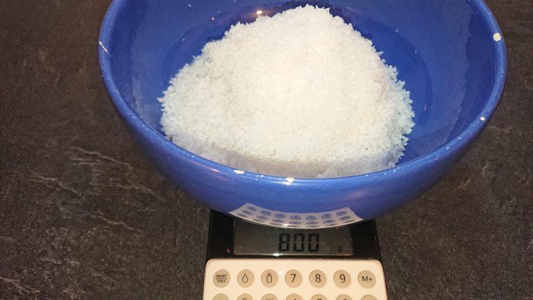 Pesez le sel