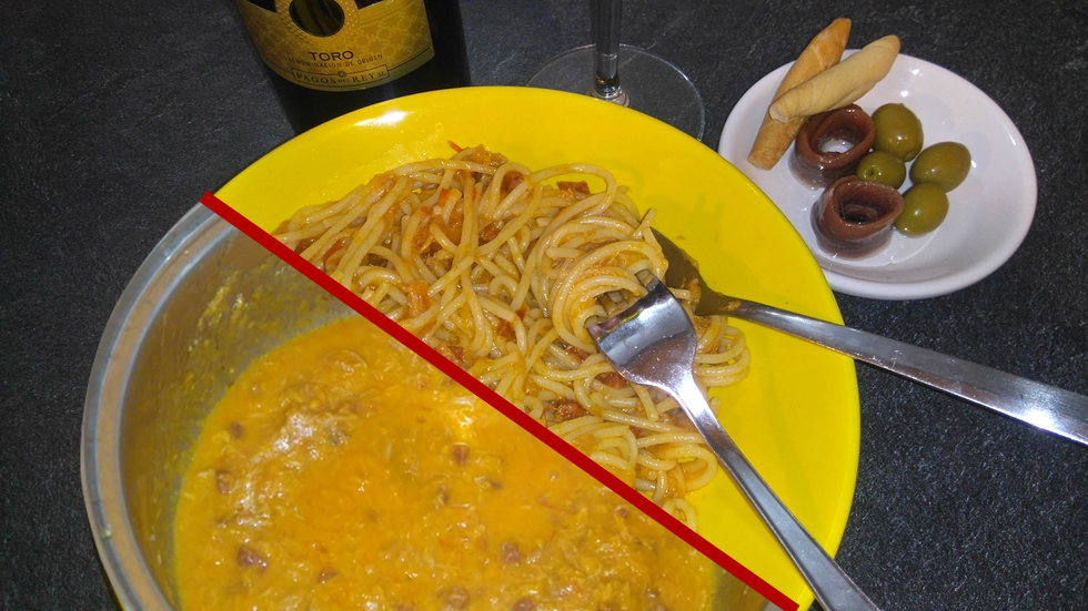 Sauce Tomate au Chorizo et au Thon - Salsa de Tomate con Chorizo y Atún