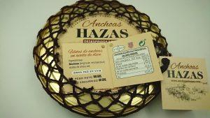 Filets d'Anchois Premium Hazas - Information Nutritionnelle