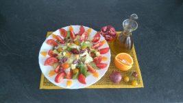 Ensalada con Granada y Naranja – Salade avec Grenade et Orange