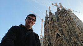 Je suis devant la Sagrada Familia
